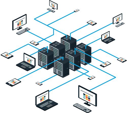 Infrastruttura di rete cloud
